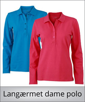 LSS dame polo shirt
