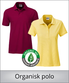 Organisk polo shirt