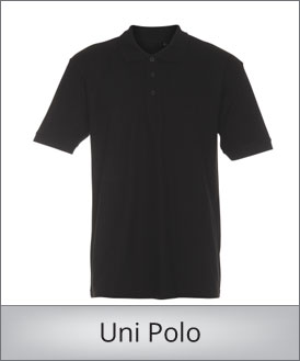 Uni polo shirt