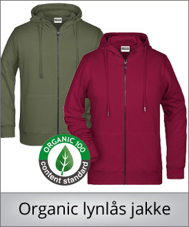 Organic zipped sweat 8026
