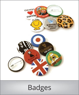 Badges i eget design
